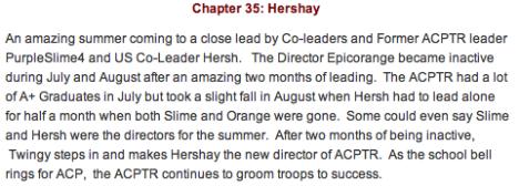 ACPTR Chapter 25 Hershay