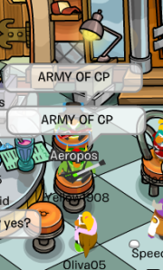 ARMY OF CP!