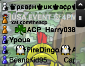 ACPTR event chat size
