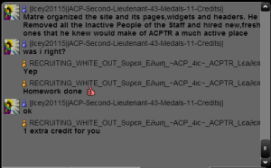 ACPTR homework